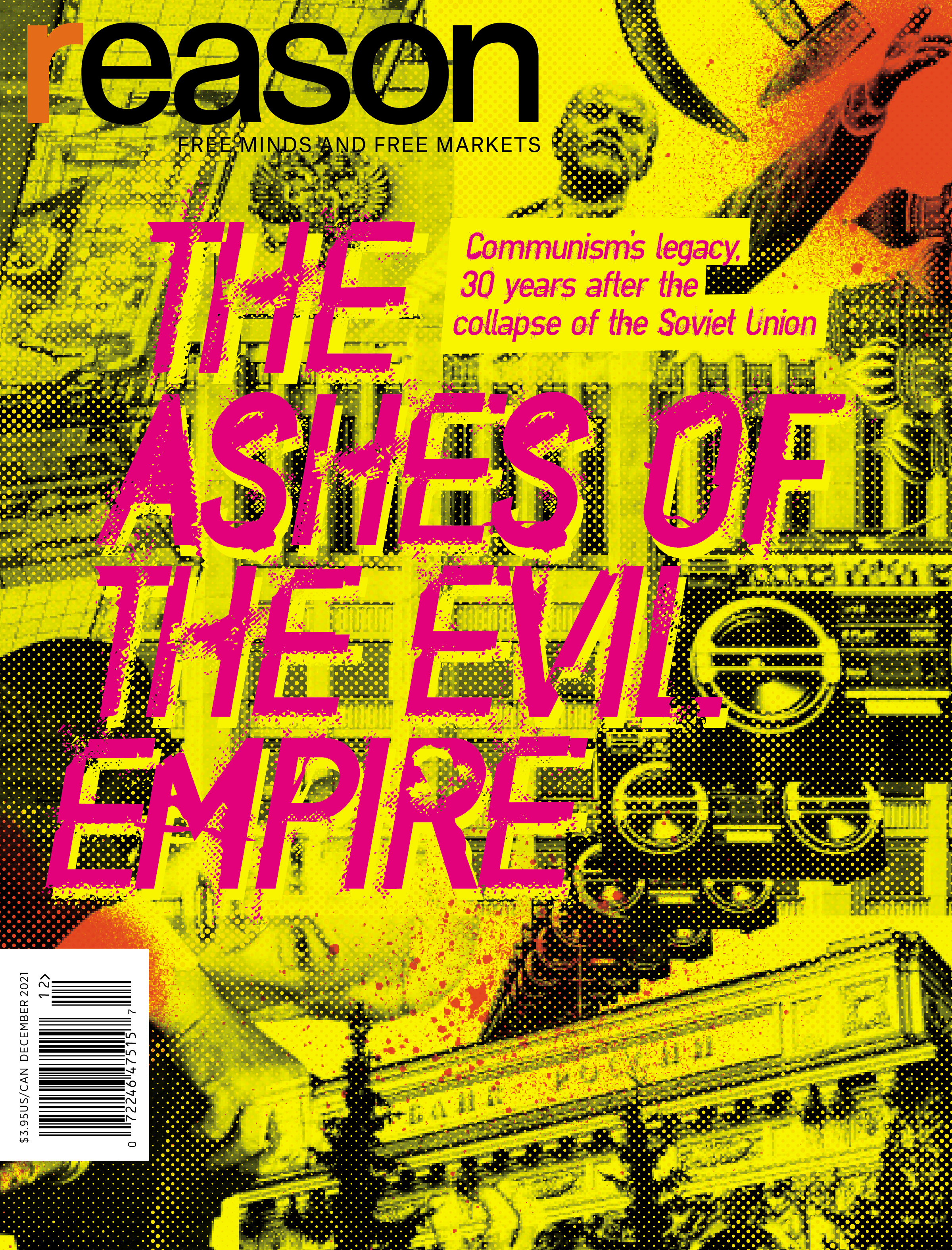 Reason Magazine, December 2021 cover image